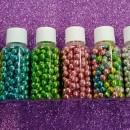 Perle 6 mm Metallizzate Lucide di zucchero!!