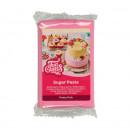 Rosa Brillante. Pasta di zucchero FunCakes. Pretty Pink. Senza Glutine e Kosher