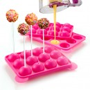 Set 2 Stampi in silicone per Cakes Pops.