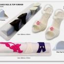 Set di 2 Supporti Forma Scarpa e Tacco. JEM