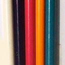 Set di 5 pennelli punta fine varie misure e dimensioni per il cake design e la pasta di zucchero
