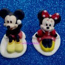 Set di Topolino e Minnie 3/D di Zucchero. Modecor