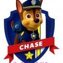 Statuina di Chase del cartone Paw Patrol.