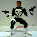 Statuina in PVC  del Punitore The Punisher Marvel Supereroi.