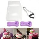 Tacco Alto 4.5 cm. Kit Scarpa Cake Structure High Heel Shoe.