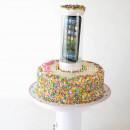 Torta con sorpresa !! Popping Cake 30 cm