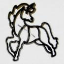Unicorno. Stampo Tagliapasta Patchwork Cutter in plastica.