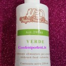 Verde 250 ml. Colorante a base acqua per Aerografo. WFD