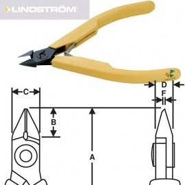 TRONCHESE LINDSTROM 8162 - LINDSTROM CUTTER 8162 immagini