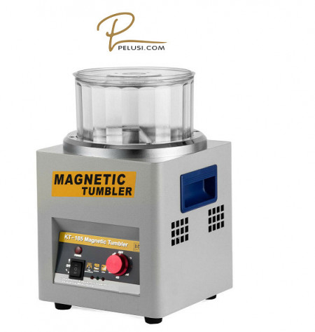 """BURATTO MAGNETICO """"KT 185"""" /KT 185 Magnetic Tumbler Jewelry Polisher Jewelry Finisher Jewelry Finishing Machine"""