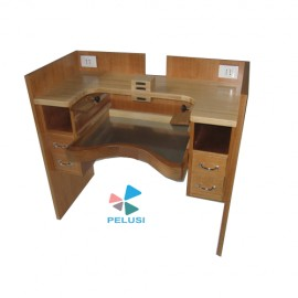 BANCO PER INCASTONATURA GEMME - STONE SETTERS WOOD WORKBENCH immagini