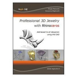 BOOK PROFESSIONAL 3D JEWELRY WITH RHINOCEROS immagini