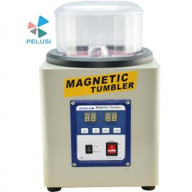 "BURATTO MAGNETICO ""KT 205"" /KT-205 Magnetic Tumbler Jewelry Polisher Jewelry Finisher Jewelry Finishing Machine immagini"