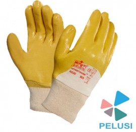 GUANTI SPALMATI NITROTOUGH GIALLO/SAFETY GLOVES immagini