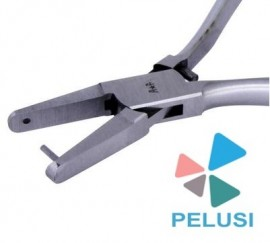 PINZA PER FORARE CINTURINI OROLOGI/Punching pliers for punching holes in leather straps immagini