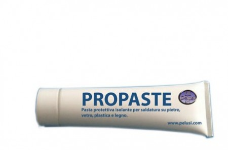 """PROPASTE"" PASTA PROTETTIVA PER SALDARE/ PRO PASTE ANTI HEAT FOR STONES"