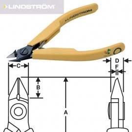 TRONCHESE LINDSTROM 8148 - LINDSTROM CUTTER 8148 immagini