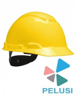 CASCO ELMETTO ANTINFORTUNISTICA GIALLO