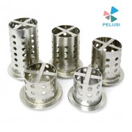 CILINDRO ACCIAIO forati per microfusione / Perforated Stainless steel flask