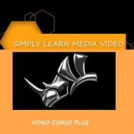 VIDEO CORSO SIMPLY LEARN PLUS CORSO DI RHINOCEROS 6.0 SCHOOL EDUCATIONAL