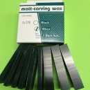 CERA PER MODELLAZIONE MATT A FETTE GREEN/ WAX CARVING SLICES GREEN