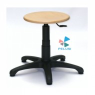 SGABELLO IN LEGNO  DA LABORATORIO/ PROFESSIONAL STOOL