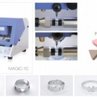 MAGIC 10 INCISORE E TAGLIO ELETTRONICO ANELLI /MAGIC 10 ENGRAVE AND CUTTING MACHINE