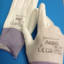 GUANTI PROTETTIVI IN NYLON/POLIURETANO/ SAFETY GLOVES