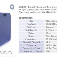 MAGIC 1S WI FI INCISORE ELETTRONICO INTERNO ED ESTERNO ANELLI/ MAGIC1 S ENGRAVE MACHINE