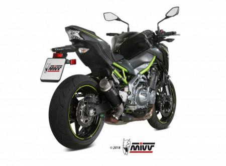 Terminale Scarico Exhaust MIVV GP PRO Nero Acciaio inox Kawasaki Z 900 2017/2019