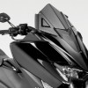 CUPOLINO EXENTIAL DPM RACE ALUMINIUM WINDSHIELD YAMAHA T-MAX 530 2017 2018