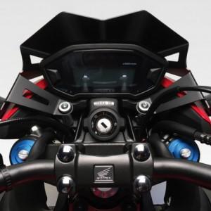 DPM RACE CUPOLINO WARRIOR HONDA CB 500 F 2016 -2018 Windshield Screen Aluminium