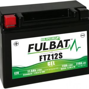 FTZ12S FULBAT BATTERIA A GEL PRONTA ALL'USO YTZ12S YAMAHA T-MAX 530 560