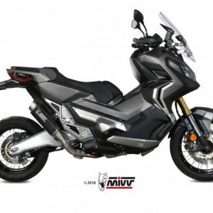 TERMINALE SCARICO EXHAUST ESCAPE MIVV GP PRO CARBONIO HONDA XADX X-ADV 750