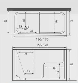 Vasca con sportello auxilia comfort - Busco vasche da bagno ...