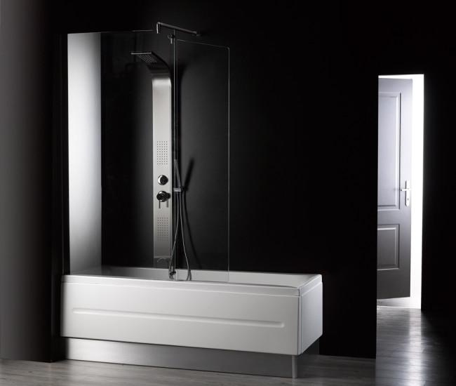 Cambiare vasca da bagno con doccia idee creative di - Vasche da bagno con box doccia incorporato ...