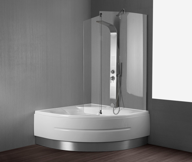 Vasca da bagno montreal 140x140 cm - Misure vasca da bagno angolare ...
