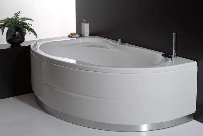 Vasca da bagno combinata con box doccia vancouver for Dimensioni vasche da bagno angolari