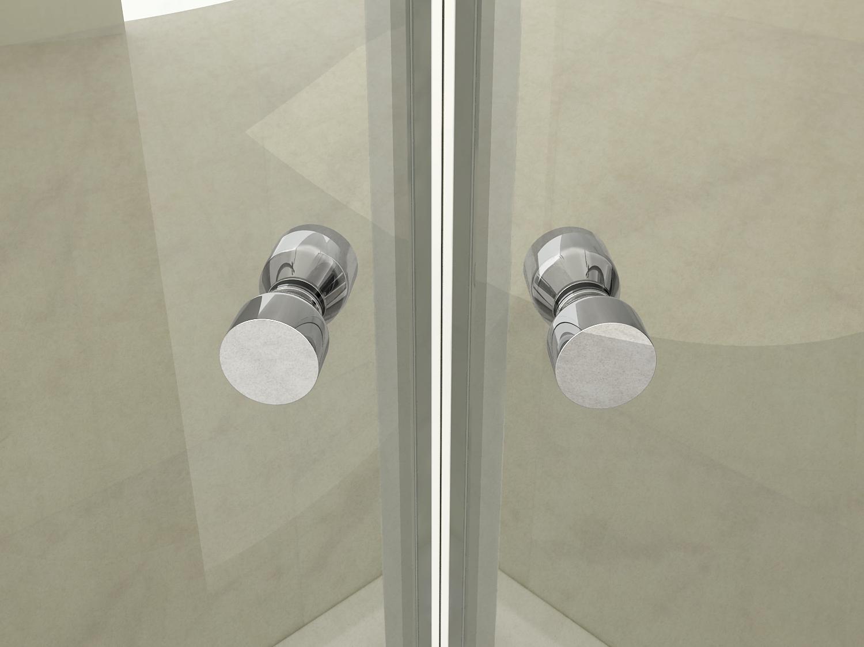 Box doccia bari doppia porta battente esterna