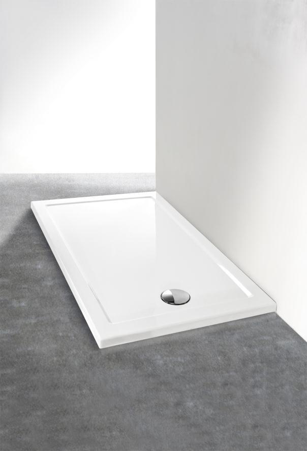 Piatto doccia in acrilico rettangolare o quadrato - Piatto doccia in resina o ceramica ...