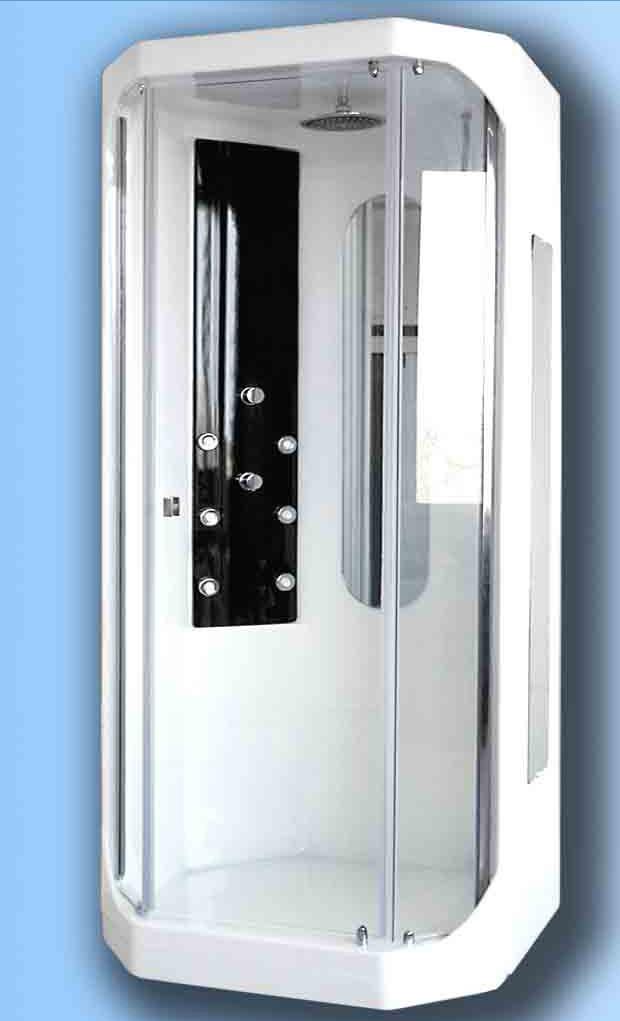 Cabina doccia idromassaggio domino for Cabine di grandi dimensioni con vasche idromassaggio