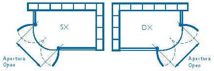 Misure Per Box Doccia.Box Doccia Semicircolare In Cristallo Hawa