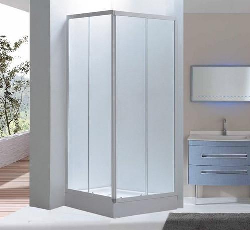 Box doccia in vetro opaco doppia apertura scorrevole - Box doccia in vetro prezzi ...