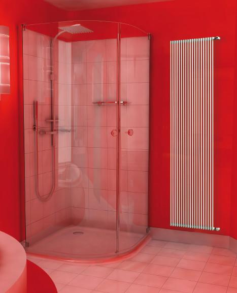 Radiatore da bagno taormina singolo 14 elementi for Radiatore bagno