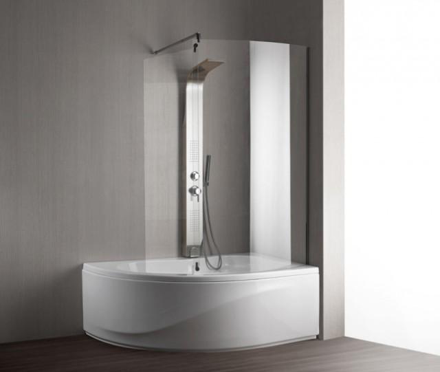 Vasca da bagno combinata con box doccia paris - Vasche da bagno con box doccia incorporato ...
