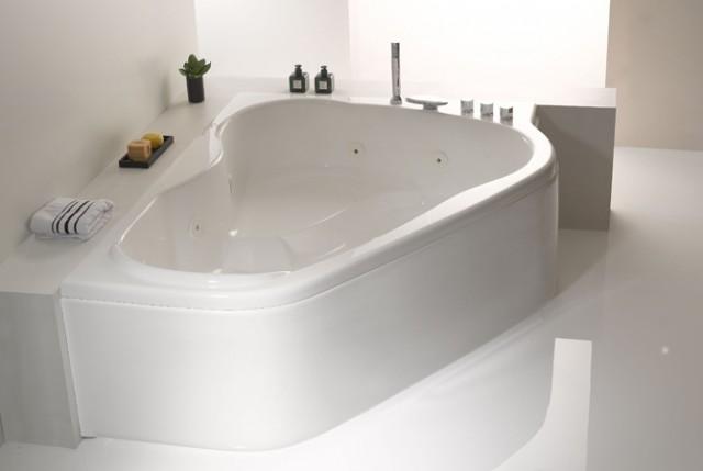 Vasca da bagno melbourne 170x120 cm - Vasca da bagno grigia ...