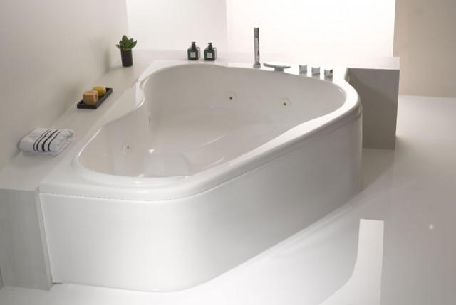 Vasca da bagno melbourne 170x120 cm - Vasche bagno angolari ...