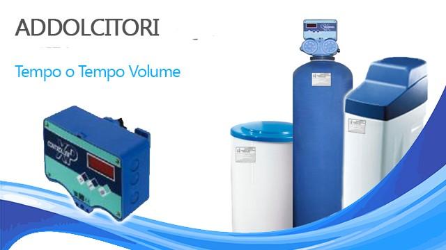 ADDOLCITORE AUTOMATICO CON VALVOLA TEMPO/ VOLUME 8 LITRI