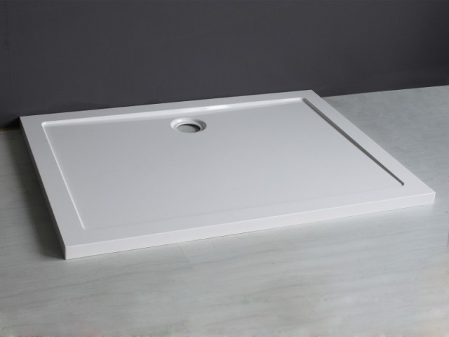 Piatto doccia acrilico rettangolare for Doccia rettangolare