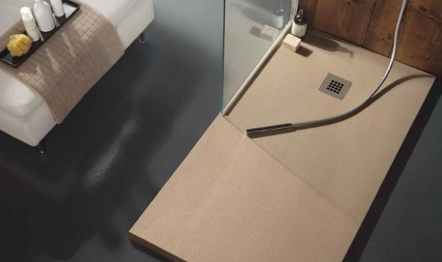 Piatto doccia rettangolare alluminio in acciaio inox in